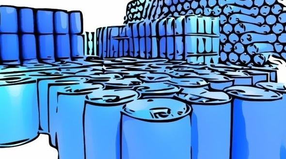 Пластиковые бочки 227 литров