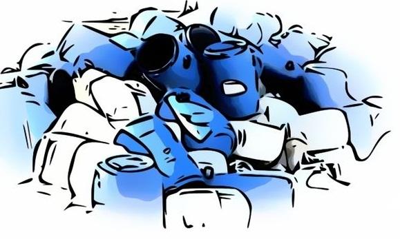 отходы пластиковых изделий