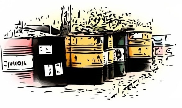 отходы металлических бочек