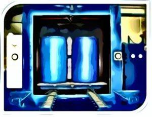 Шкаф для промывки бочек